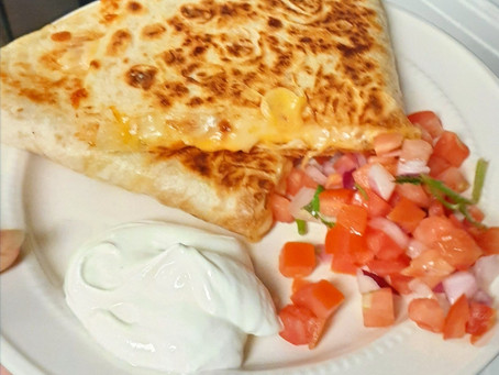 $10 Family Meal: Chicken Quesadillas that Taste Better Than a Restaurant & Are Quick & Easy