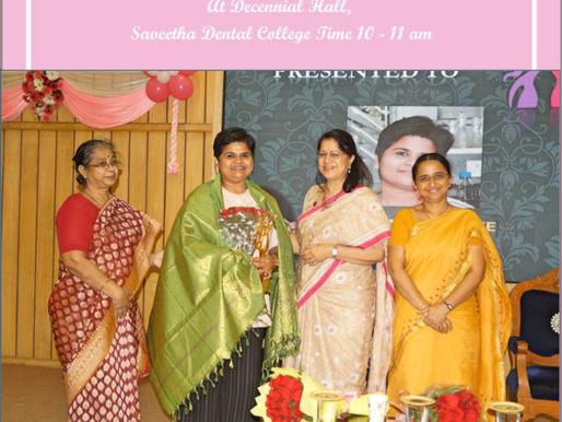 Thanks Saveetha University for the honor
