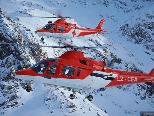За хеликоптерното спасяване в България