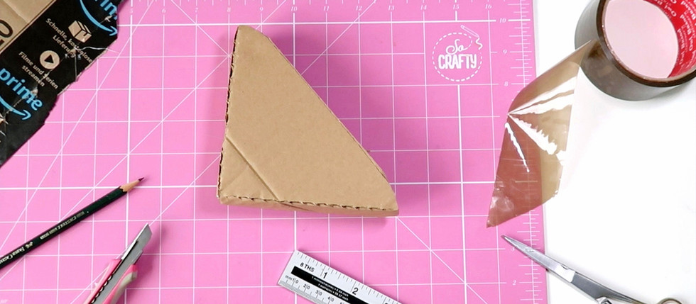HOW TO MAKE CARDBOARD PACKING CORNERS FOR SHIPPING YOUR ARTWORK