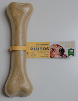 Plutos Cheap Cheese and Lamb Dog Chew
