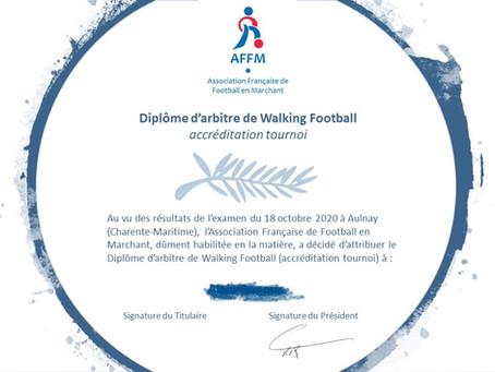 Arbitres AFFM accrédités !
