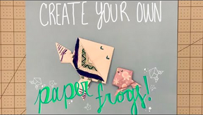 Tutorial – Jumping Paper Frogs!