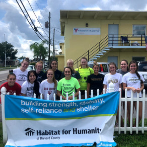 Hawks Give Back to the Community