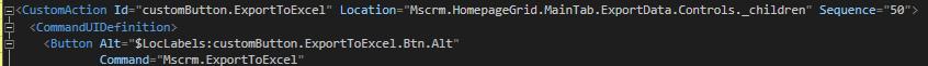 Custom Button XML