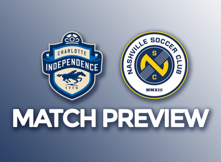 Preview: Charlotte Independence vs Nashville SC