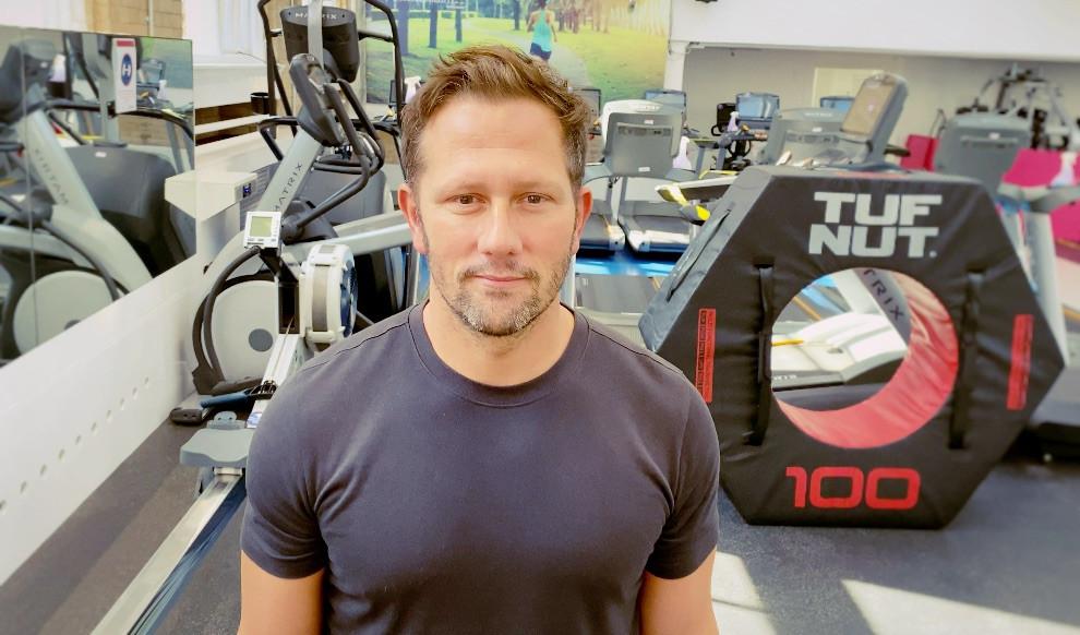 Personal Trainer Julien Bertherat.