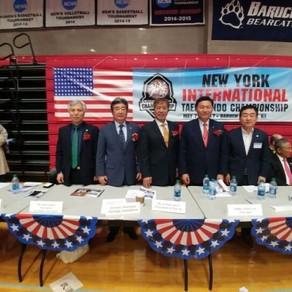 세계태권도 챔피언쉽 맨하탄 뉴욕시립대 실내경기장에서 2000여명이 모여 성황리에 마쳤다.
