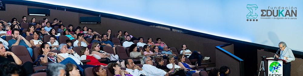 Pablo Luna Tapia, Inauguración Expo Gabriel García Márquez en Planetario de Cancún; presentada por Fundación Edukan en alianza con INBA, COQCYT e ICA