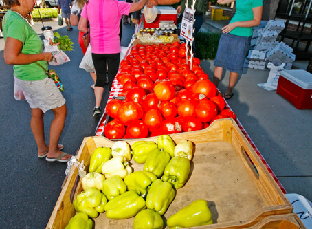 Why Shop at a farmer's market?