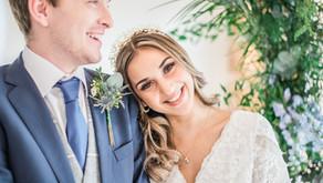 Something Blue Spring Wedding Styling