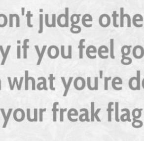I Don't Judge.