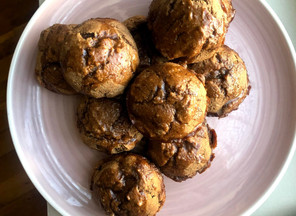 Banana Muffins: Vegan, Whole Wheat, Dairy-Free, Eggless, 20 minutes