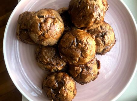 Banana Muffins: Vegan, Whole Wheat, Dairy-Free, Eggless, 20 minutes
