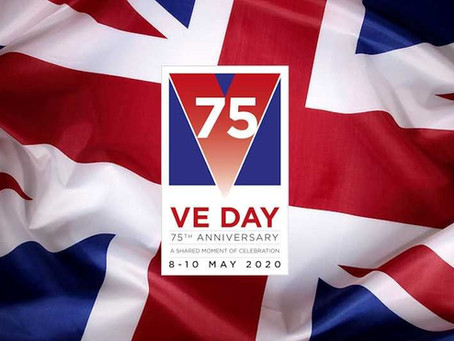 V.E. Day Sing A Long  with Rainbow Connection Singers Friday 8th at 7pm