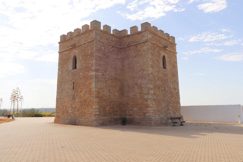 Castillo de Doña Blanca and archaeological site in El Puerto de Santa Maria, Cadiz, Spain