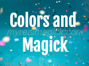 Colors and Magick