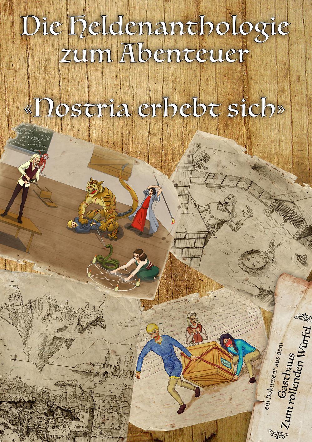 Cover der Heldenanthologie