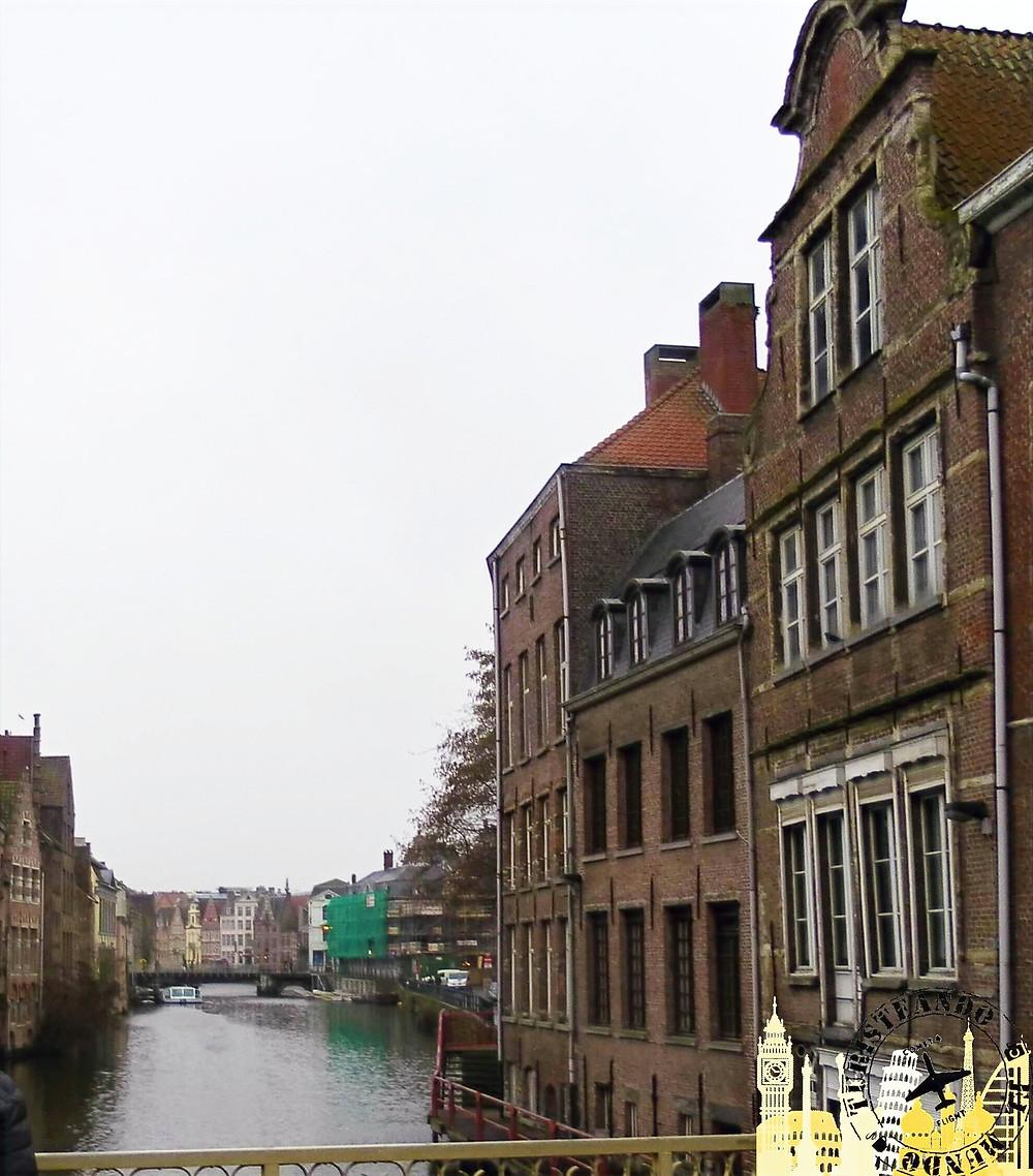 Río Lys. Gante (Bégica)