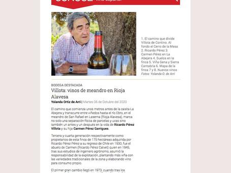 Bodega Destacada de octubre en Spanish Wine Lover