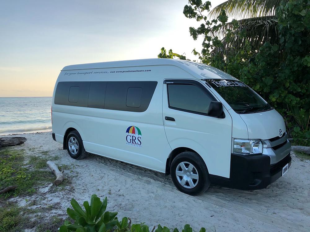 Transport Services Praslin Seychelles