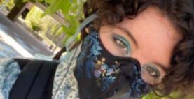 Sabrina Ehrnstein: Putting their Design Skills to Work with Homemade Masks
