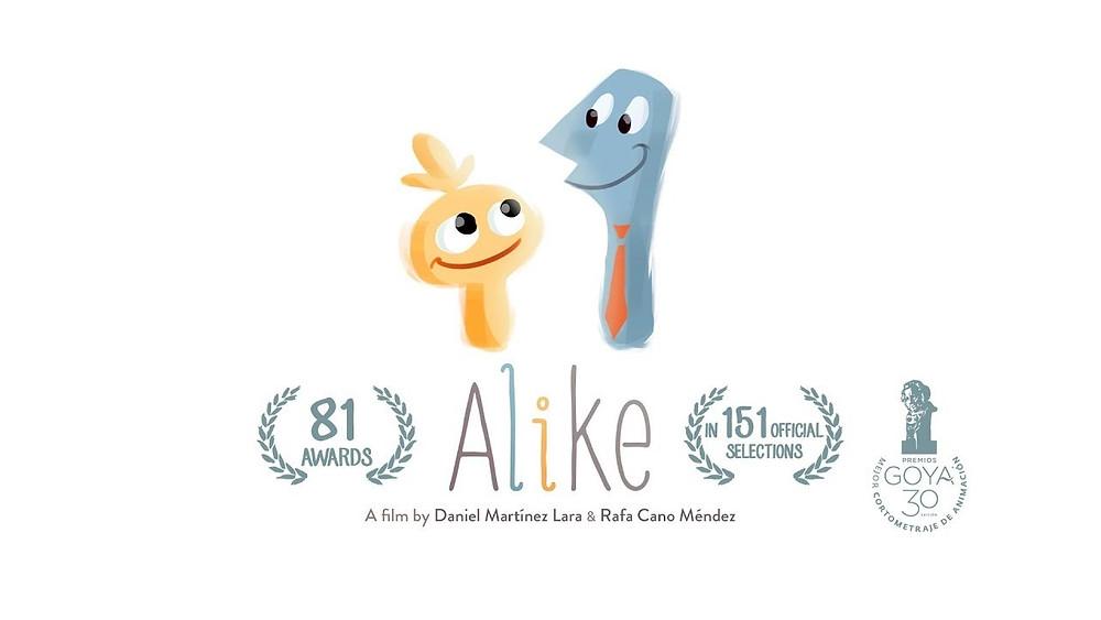 Alike cortometraje