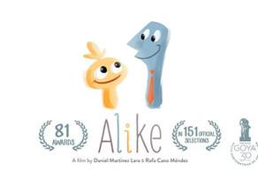 Como la sociedad mata nuestra creatividad: cortometraje Alike