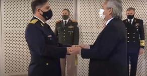 Fernández destacó rol de fuerzas de seguridad en pandemia y les pidió preservar el Estado de derecho