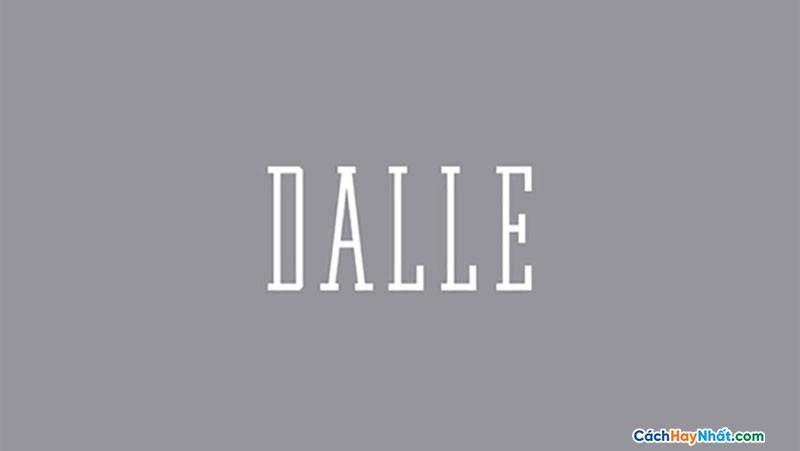 Font Dalle Free