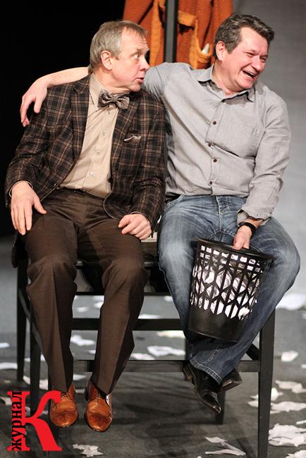 Андрей Зарецкий и Андрей Ильин в спектакле «Игры одиноких»