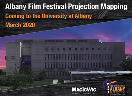MagicWig wins Projection Mapping project