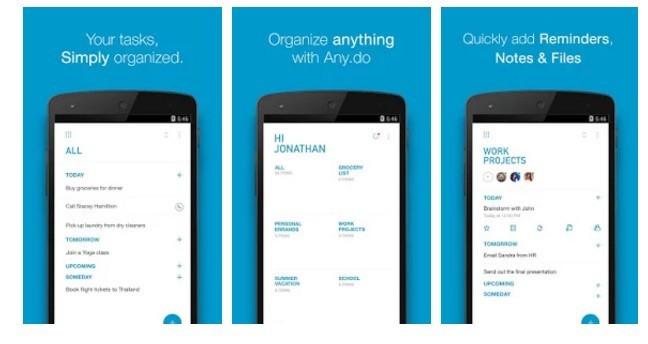aplicación Any.do paso a paso