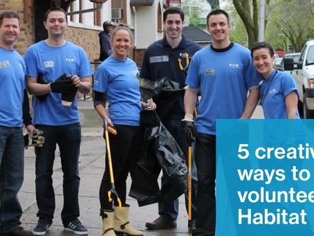 5 Creative Ways to Support Habitat.