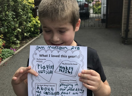 Sam and Lucas (Yr2) share what they loved about year 2.