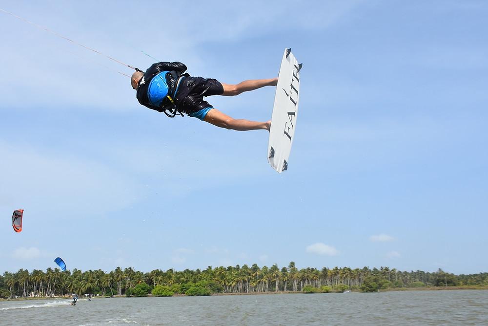 Kitesurfing June Kalpitiya