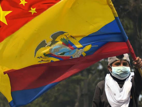 """Ciudadanos ecuatorianos exigen al Gobierno entrar en la """"Ruta de Seda Global de Salud"""""""