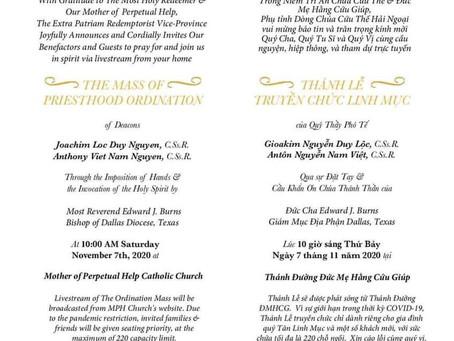 Ordination News
