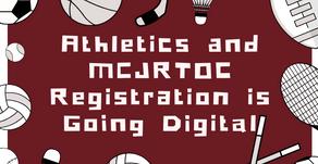 Athletics/MCJROTC Registration is Going Digital