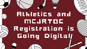Athletics/MCJROTC Registration is Going Digital