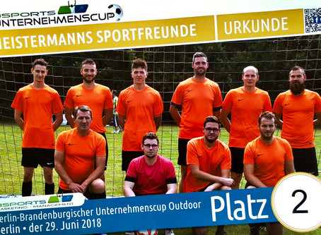 2. Platz - Berliner Unternehmens-Cup