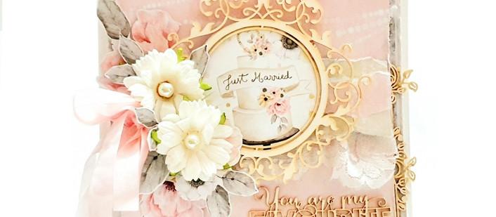 Delightful Wedding Card
