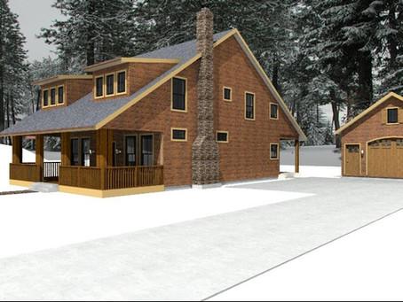 #Cabin House Plan-cd-228