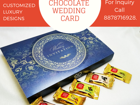 Chocolate Wedding cards for make your invitation special