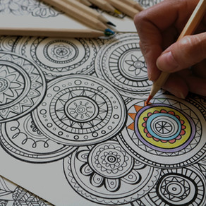 CHANCE TO WIN: Colour-In Animal Tablecloth & Colouring In World Map