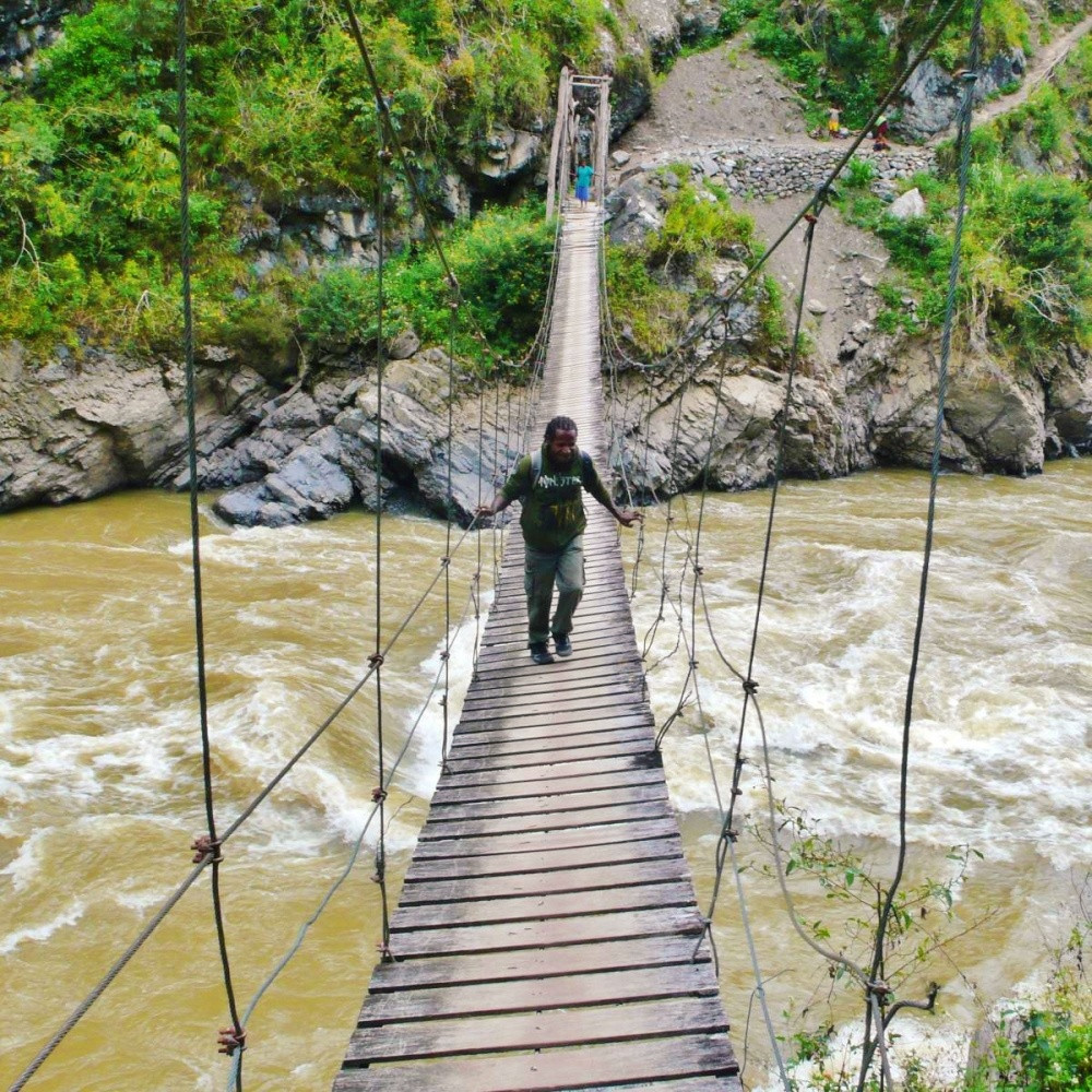 Vallée de baliem randonnée papouasie