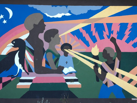The Power of Art: #BlackLivesMatter Mural