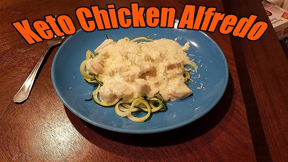 Keto Chicken Alfredo Recipe