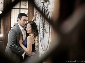 { Francis + Frances } Prenup at Studio Namu | Indoor Pre Wedding Photography in Manila, Philippines