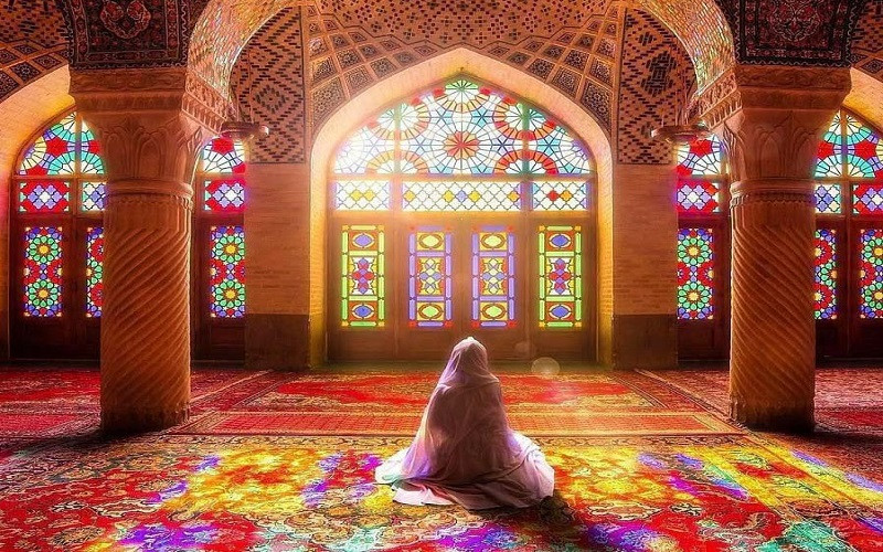 mosquée rose Iran